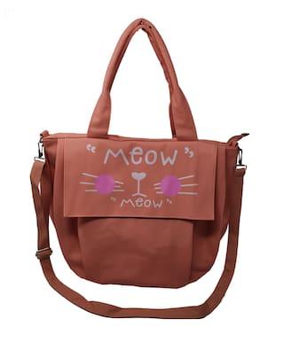 Gofika Nylon Women Hobo Bag - Orange