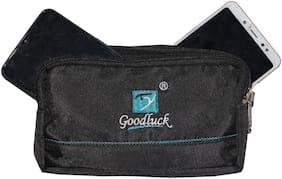 Goodluck Polyester Mobile Waist Pouch (Important Note : Colour May Vary, As per Stock)