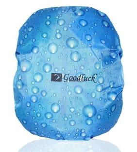 Goodluck Sky-Blue Polyester Rain Cover for Bag's