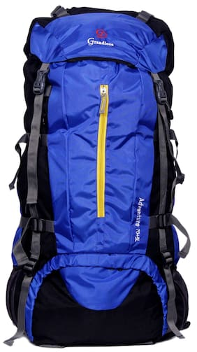 86237961b835 Grandiose 75L Royal Blue Chain Model Hiking Trekking Camping Rucksack  Backpack Bags (GTB67501RB)
