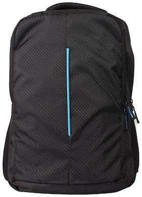 Greentree Black Pu Backpack