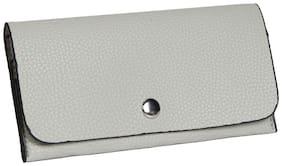 Grey PU Wallet