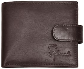 Hawaishop Women Brown Leather Wallet