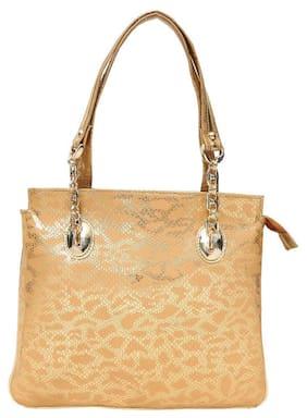 Hawaishop Faux Leather Women Handheld Bag - Yellow