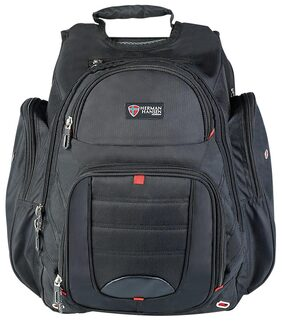 Herman Hansen  45L  Multi-utility Laptop Backpack Black
