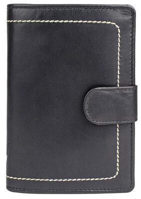 Hidesign Women Leather Wallet - Black