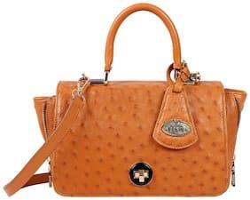 Hidesign Azur Tan Leather Womens Hand bag