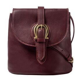 HIDESIGN CARAMEL 02 BROWN  LEATHER LADIES SLING BAG
