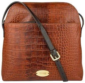 Hidesign Leather Women Handheld Bag - Tan