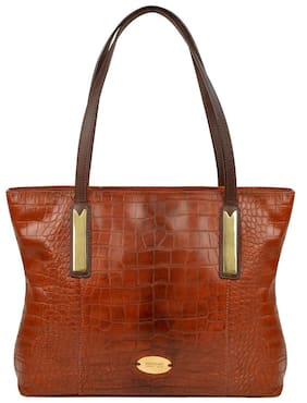 Hidesign Claea 02 Tan Leather Shoulder Bag