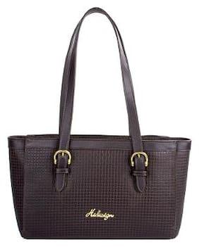 Hidesign Leather Women Handheld Bag - Brown