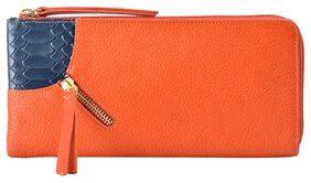 Hidesign Women Leather Wallet - Orange