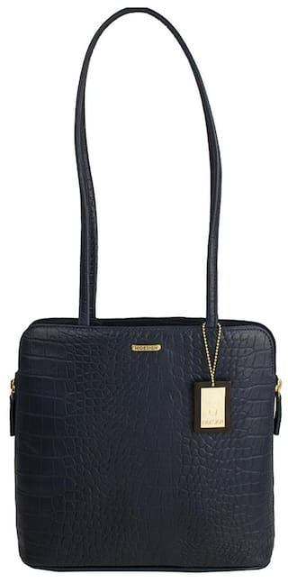 Buy Hidesign Women Leather Sling Bag - Blue Online at Low Prices in ... a5f1511668d88
