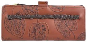 Hidesign Women Leather Wallet - Brown