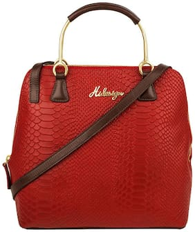 Hidesign Red Handheld Bag