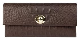 Hidesign Women Brown Leather Wallet