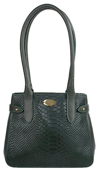 abd0f05d4b29 Buy Hidesign Women Leather Others Handheld Bag - Green Online at Low ...