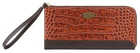 Hidesign Women Leather Wallet - Brown