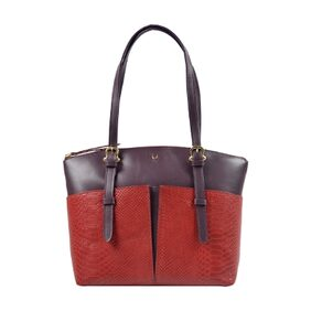 HIDESIGN VIRGO 01 SB RED LEATHER LADIES HANDBAG