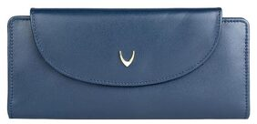 Hidesign Women Leather Wallet - Blue