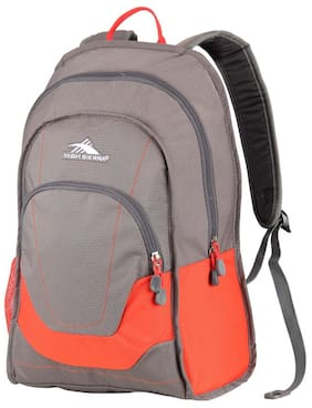 High Sierra Grey Polyester Backpack