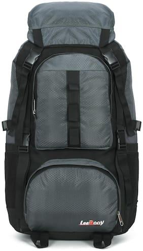 LeeRooy Large Size Hard Luggage Bag - Black , No Wheels