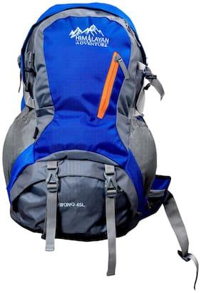 Himalayan Adventures Blue Nylon Backpack