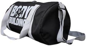HMFURRYS FINEST Black Sport Gym Duffle Bag