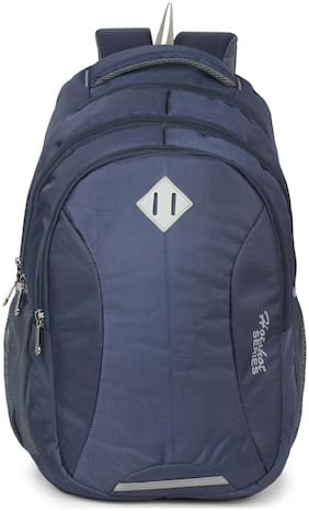 Hot Shot 30 ltr Blue Polyester Laptop backpack