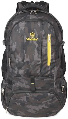 Hot Shot Polyester Men Hiking bag - Black