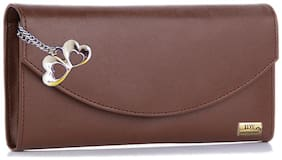 I DEFINE YOU Women PU Wallet - Brown