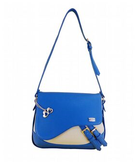 I DEFINE YOU Women Solid Pu - Sling Bag Blue