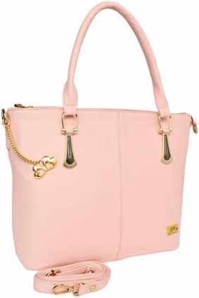 I DEFINE YOU Pu Women Handheld bag - Pink