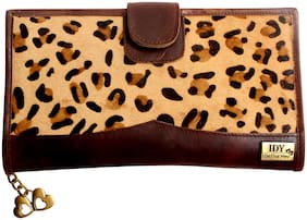 I DEFINE YOU Women Leather Wallet - Brown