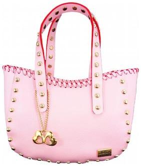 I DEFINE YOU Faux leather Women Handheld bag - Pink