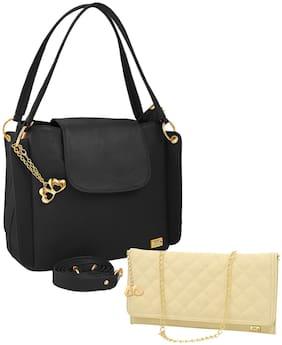 I DEFINE YOU Pu Women Handheld bag - Black