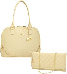 I DEFINE YOU Pu Women Handheld bag - Beige