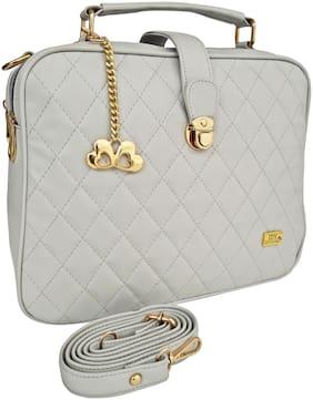 I DEFINE YOU Pu Women Handheld bag - Grey