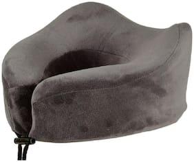 ILU Grey Tranquility Supercomfy Memory Foam Neck Travel Pillow