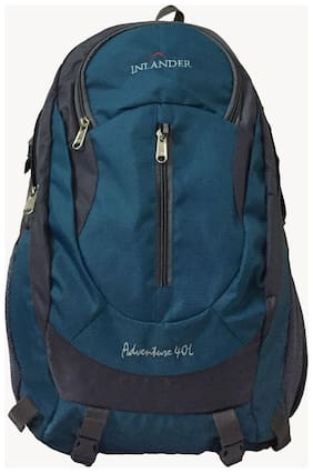 Inlander Blue Waterproof Polyester Backpack