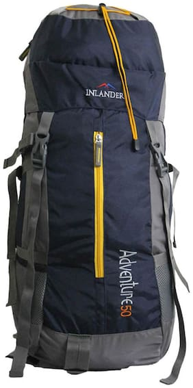 Inlander Blue Polyester Backpack