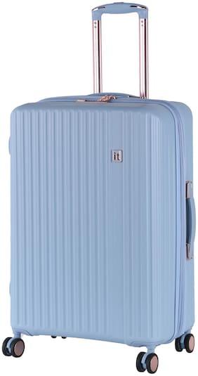 IT Luggage Medium Size Hard Luggage Bag - Blue , 4 Wheels
