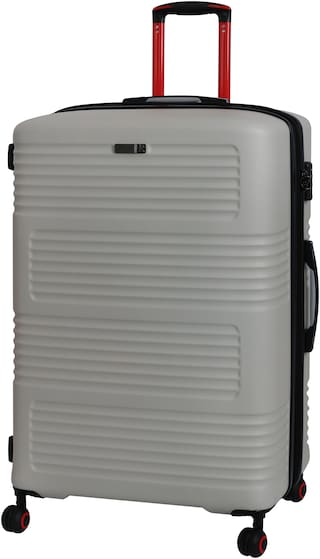 IT Luggage Cabin Size Hard Luggage Bag ( Grey , 4 Wheels )