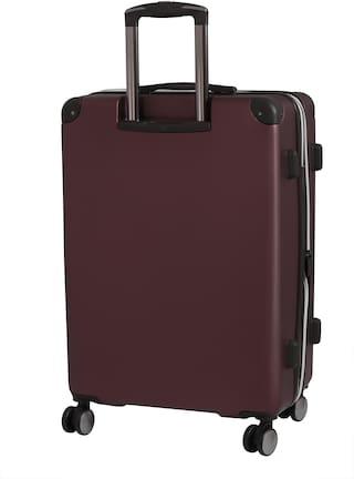 IT Luggage Medium Size Hard Luggage Bag - Maroon , 4 Wheels