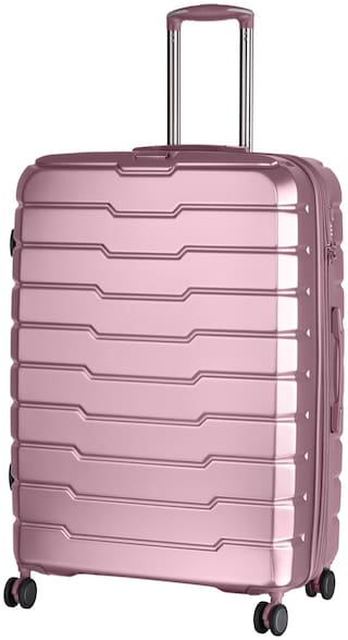 IT Luggage Large Size Hard Luggage Bag - Pink , 4 Wheels