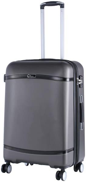 IT Luggage Medium Size Hard Luggage Bag - Grey , 4 Wheels