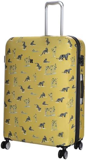IT Luggage Large Size Hard Luggage Bag ( Gold , 8 Wheels )