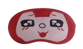 Jenna   RedBlackEye Cartoon Face Sleeping Eye Mask