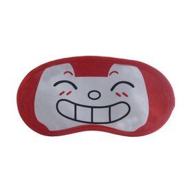 Jenna   RedHappy Cartoon Face Sleeping Eye Mask