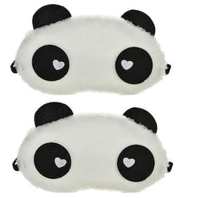 Jenna  SWH-2 Panda Sleeping Blindfold Eye Mask(Pack Of 2)